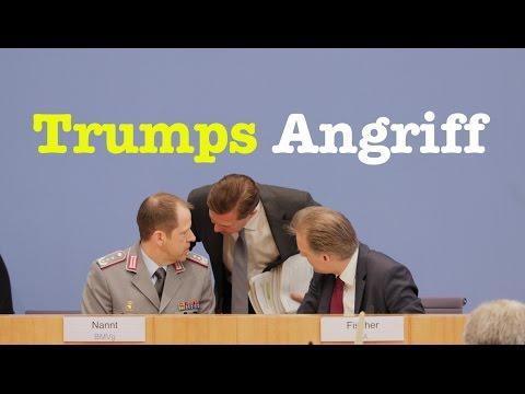 Sehenswerte Bundespressekonferenz vom 7. April 2017 (видео)