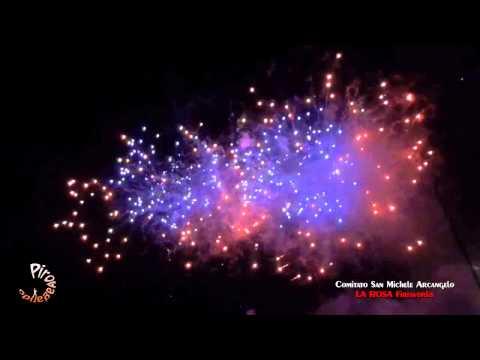 LUCCA SICULA (Ag) - Pasqua 2015 - LA ROSA Fireworks