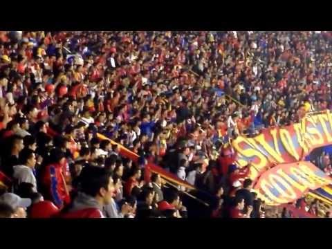 PASTO DE MI VIDA  ♫ ♬ en la Copa Sudamericana 2013 - La Banda Tricolor - Deportivo Pasto