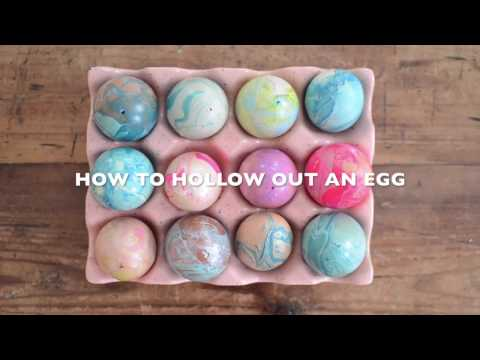 How To Hollow Out an Egg