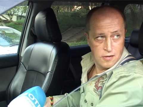 Высокая скорость авто стала причиной аварии на Сахалинской (видео)