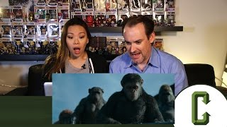 War for the Planet of the Apes Teaser Trailer Reaction & Review by Collider