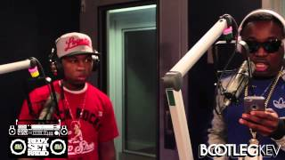 Troy Ave & Young Lito Freestyle On The Bootleg Kev Show