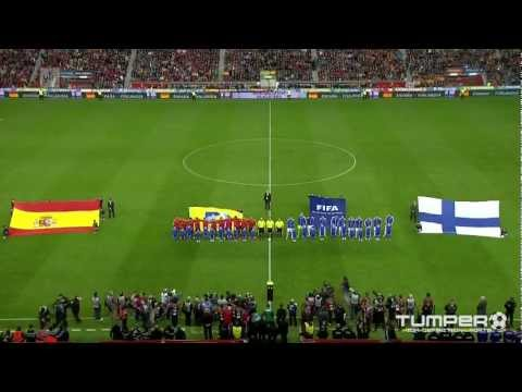 suomi - 2014 FIFA World Cup qualification: Spain - Finland 1-1 (0-0) 49