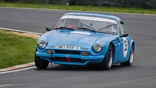 1 3/4 laps on a freshly re-surfaced Castle Combe Circuit at the Bristol Motor Club Great Western Sprint. And yes before you ask the windscreen did stay in this time. Cover photo by Rob Leslie.