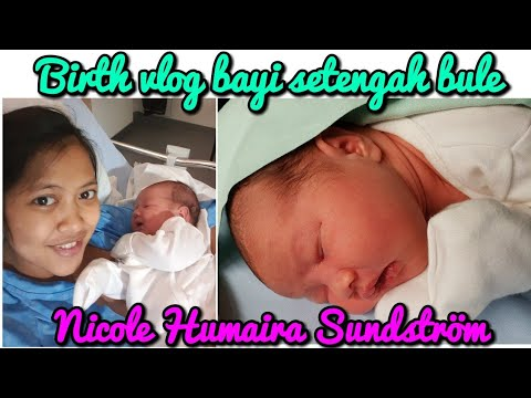 BIRTH VLOG||my first daughter||Indonesia-Finlandia