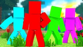 *NEW* 100 vs 100 vs 100 vs 100 Clay Soldiers Battledome - Minecraft Modded Minigame | JeromeASF
