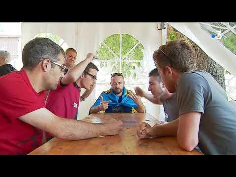 El campeonato mundial de Mourra en pleno apogeo en Ilonse - France 3 Provence-Alpes Cote d'Azur
