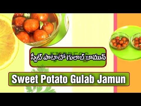 Sweet Potato Gulab Jamun Recipe : Yummy Healthy Kitchen | Express TV
