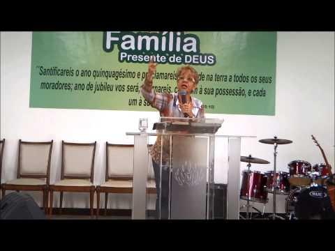 EBD na 1ª Igreja Presbiteriana de Nova Venécia/ES em 22/06/14 com Veranice de Paula Lima