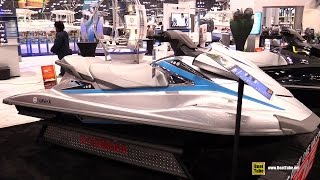 4. 2015 Yamaha WaveRunner VX Deluxe Jet Ski - Walkaround - 2015 New York Boat Show