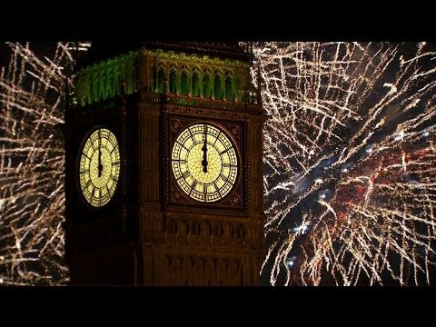 More about this programme: http://www.bbc.co.uk/programmes/b03mth1n London 2014 Fireworks on New Year's Day.