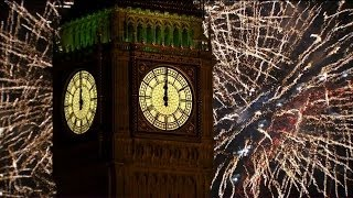 London Fireworks 2014 - New Year's Eve Fireworks - BBC One