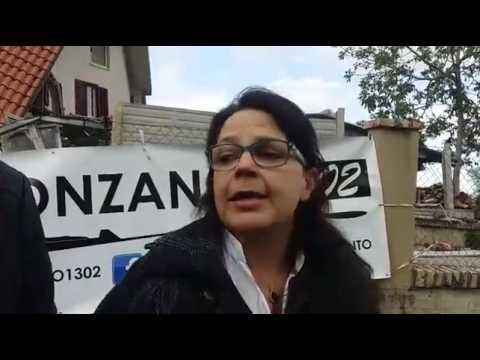 Frana di Ponzano i residenti guardano già al futuro FOTO VIDEO