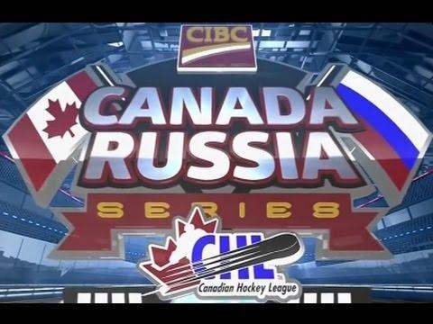 Суперсерия-2016. Молодежные сборные (U20). Первый матч Россия U20 – Канада-WHL (видео)