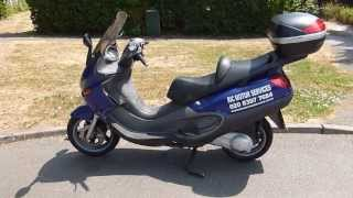 10. 2003 Piaggio X9 250 Scooter Review, walk around, demonstration and road test