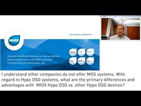 Q&A from webinar MIOX 101: Learn About On-Site Chemical Generators