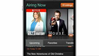 BuddyTV Guide App for iPhone and iPad Controls AT&T U-verse Cable Box