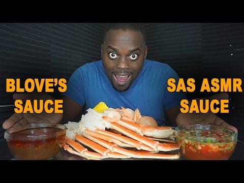 TASTING SAS ASMR SAUCE VS BLOVES SAUCE! - SEAFOOD BOIL MUKBANG - Thời lượng: 16 phút.
