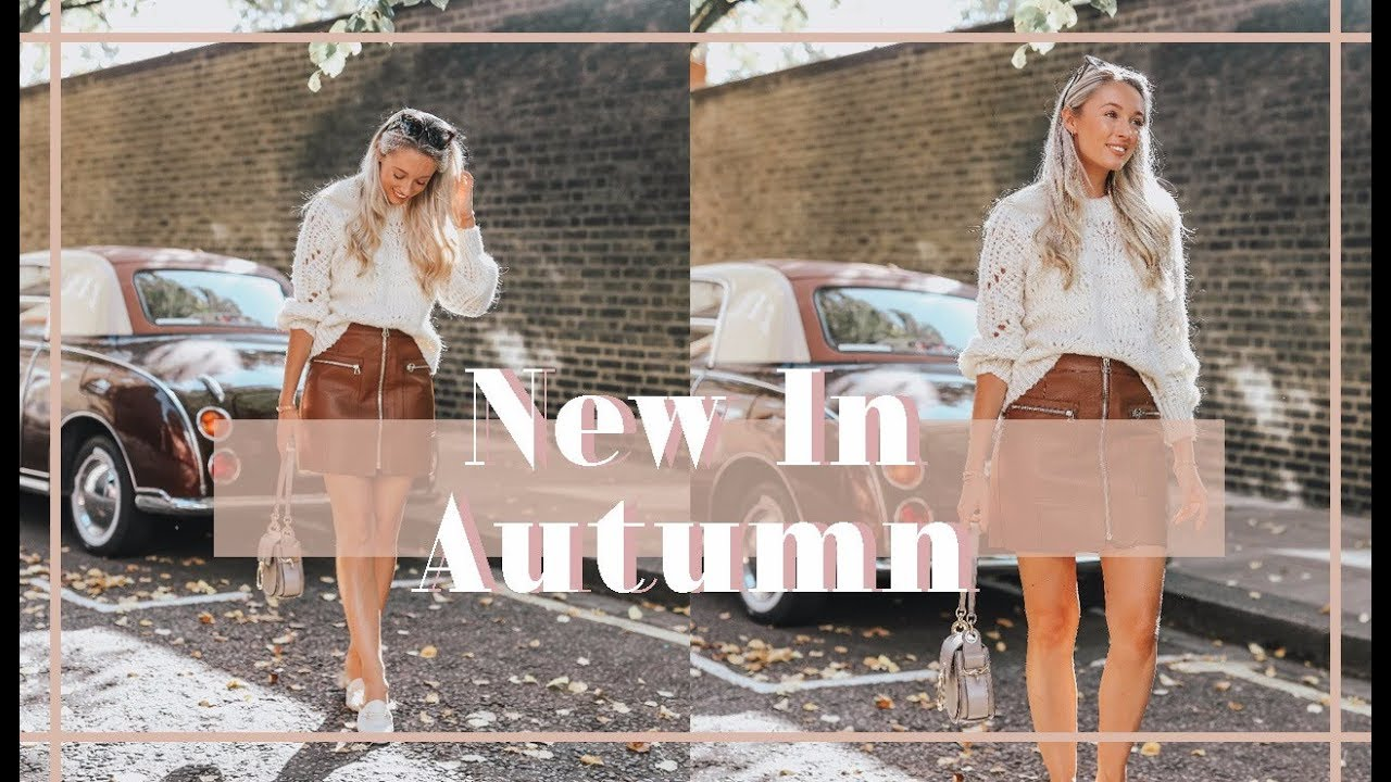 WHAT'S NEW IN MY WARDROBE // October 2018 // 🍂 Fashion Mumblr