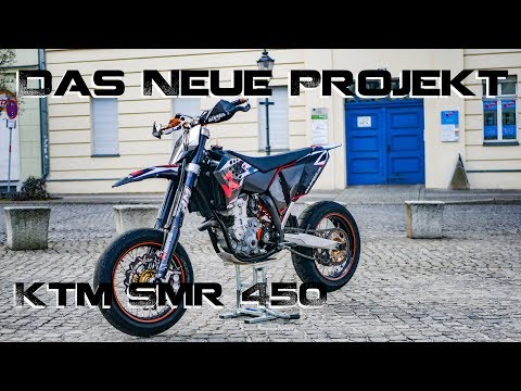 ♥ 1462 KM für ein altes Bike ♥ KTM SMR 450 ♥ Roadtrip #1 2018 ♥ (видео)
