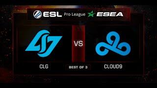 CLG vs C9, game 1