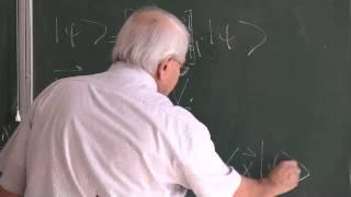 METU - Quantum Mechanics II - Week 1 - Lecture 3