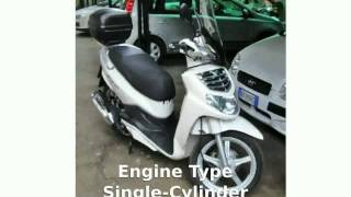 2. 2009 SYM HD 125 - Walkaround and Specification