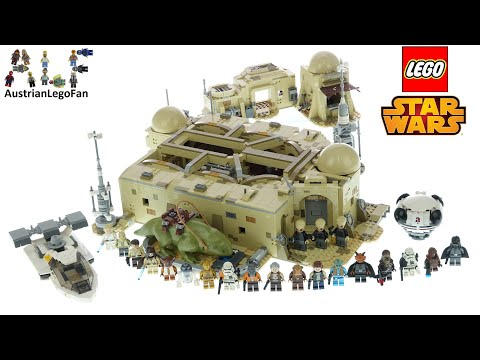 LEGO Star Wars 75290 Mos Eisley Cantina Speed Build