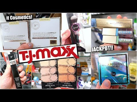 NEW MAKEUP AT TJ MAXX  - SUCH GOOD FINDS THIS WEEK INCLUDING NEW STILA GLITTER SHADES + IT COSMETICS