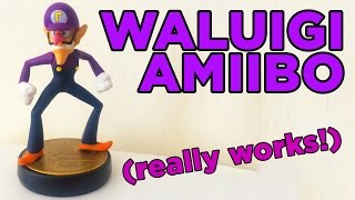 My WORKING Waluigi Amiibo!