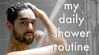 Hey guys! A real quick one today! Just as quick as my morning showers! Today I show you my men's daily morning shower routine 2017. This includes all the pro...
