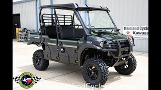9. $15,499:  2017 Kawasaki Mule Pro FXT EPS LE with Lift, Front & Rear Bumpers, Glass Vented Windshield