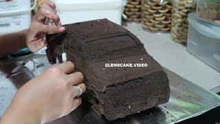 CARA MEMBUAT KUE ULANG TAHUN MOBIL SEDAN BAGIAN 1 - HOW TO MAKE BIRTHDAY CAKE Video