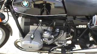 4. BMW 1983 R 65 Motorcycle