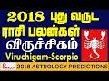 Viruchigam (Scorpio) Yearly Astrology Horoscope 2018 | New Year Rasi Palangal 2018