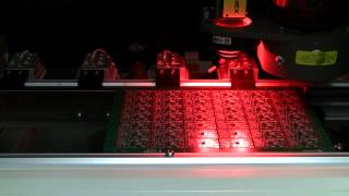 Laser PCB Depaneling using CO2