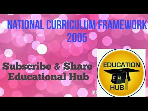National curriculum framewark 2005 l Teaching exams l Rida Mam