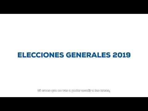 Voto por correo para las Generales del 28 de abril
