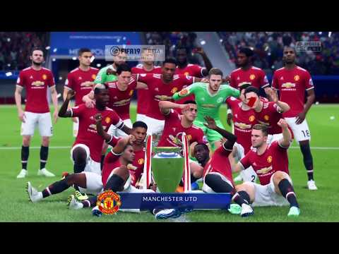 FIFA 19 UEFA Champions League Final (Man Utd Vs Chelsea)