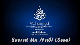 written speech on seerat un nabi in urdu