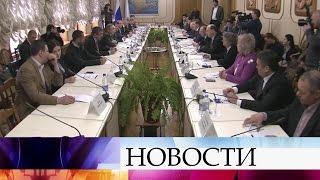 Международная парламентская делегация прибыла вКрым.