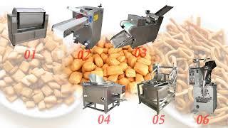 Nigeria chin chin production line youtube video