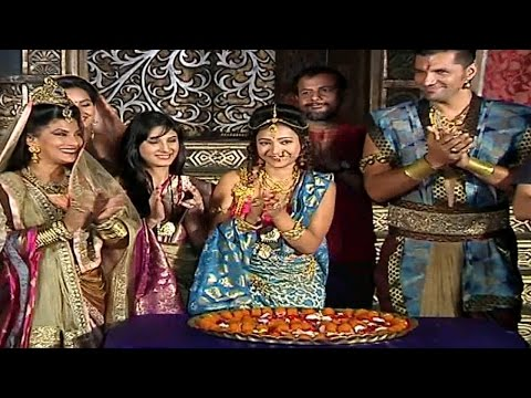 Chandra Nandini Cast Celebrates 100 EPISODES | MUS