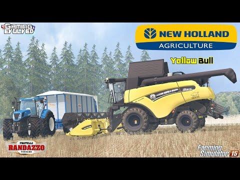 New Holland CR90.75 v1.0 Yellow Bull