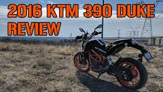 4. 2016 KTM 390 Duke Review/Great First Bike