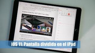 En este video mostramos el funcionamiento de la pantalla dividida de iOS 11 en un iPad. Para el video hemos utilizado el nuevo iPad Pro de 10,5''.Más información en: https://hablandodemanzanas.com/ipad/ios-11-trucos-pantalla-dividida-aplicaciones-ipad-tablet-apple-split-view-multitareaPodéis seguirnos en: - Twitter: @hdmanzanas - Facebook: https://www.facebook.com/hablandodemanzanas - Google+: https://plus.google.com/+Hablandodemanzanas/posts - Podcast en iTunes: https://itunes.apple.com/es/podcast/podcast-hablando-manzanas/id990588968?mt=2
