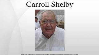 7. Carroll Shelby