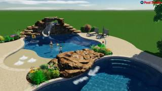 Custom Pool Design - The Lee Project