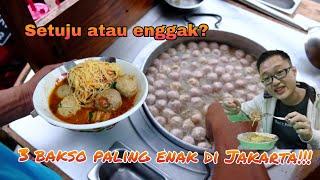 Video 3 Bakso Paling DASYAT ENAKNYA Di Jakarta MP3, 3GP, MP4, WEBM, AVI, FLV April 2019